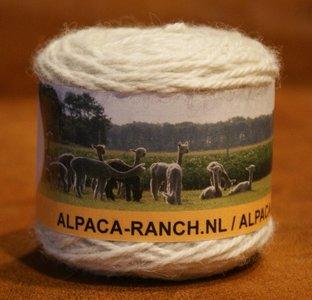 Alpacawol 50 gr wit