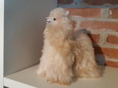 Alpaca knuffel crême