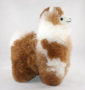 Alpaca knuffel bont