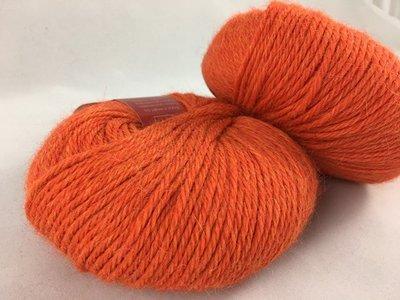 Alpaca garen soft oranje