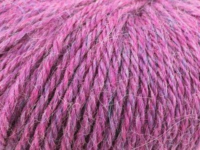 Alpaca garen soft gevlekt lila